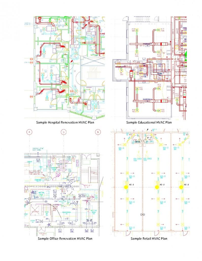 Samples 1team Engineers Hvac Drawing Sample About